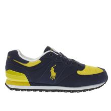 Polo Sport Navy Slaton Pony Mens Trainers