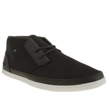 Mens Boxfresh Black Milford Trainers