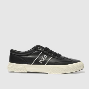 Polo Ralph Lauren Black Tarrence Mens Trainers