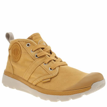 Palladium Yellow Pallaville Hi Trainers