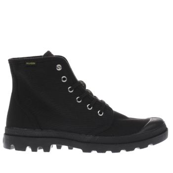 Palladium Black Pampa Hi Loriginale Mens Boots