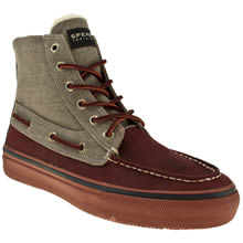 Red Sperry Bahama Chukka Heavy