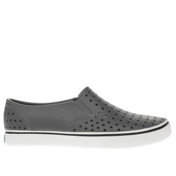 Native Grey Miles Mens Shoes