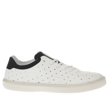 Native White Monaco Low Trainers