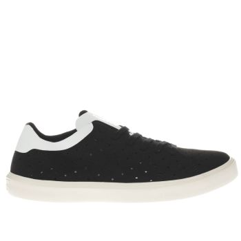 Native Black Monaco Low Trainers