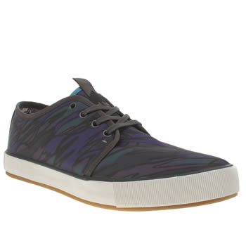 Mens Paul Smith Shoes Dark Purple Lomeli Trainers