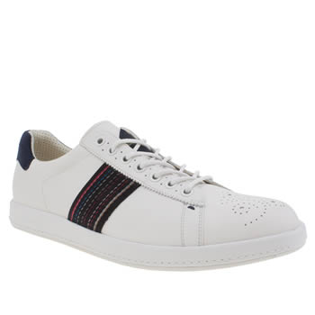 Mens Paul Smith Shoes White Rabbit Trainers