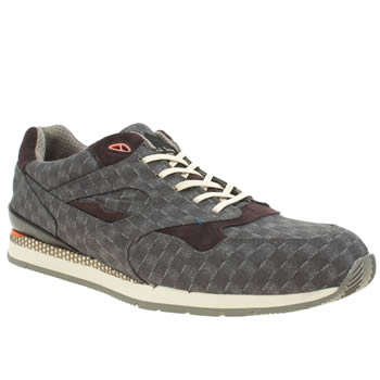 Mens Paul Smith Shoes Dark Grey Aesop Trainers