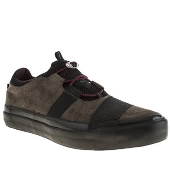 Mens Paul Smith Shoes Dark Grey Buck 531 Trainers