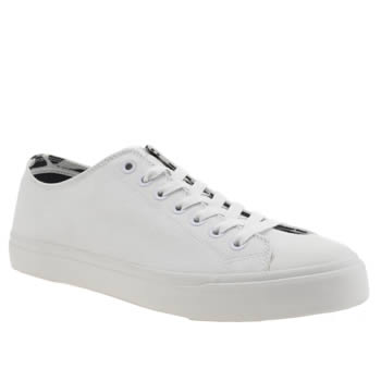 Mens Paul Smith Shoes White Indie Trainers