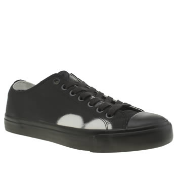 Paul Smith Shoes Black & White Indie Trainers