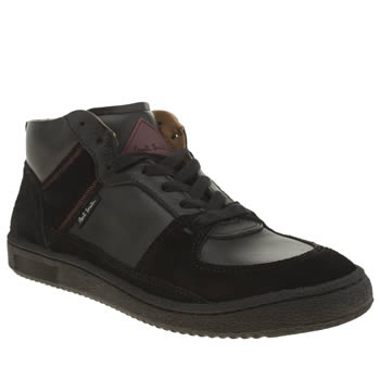 Paul Smith Shoes Black Dune Mens Trainers