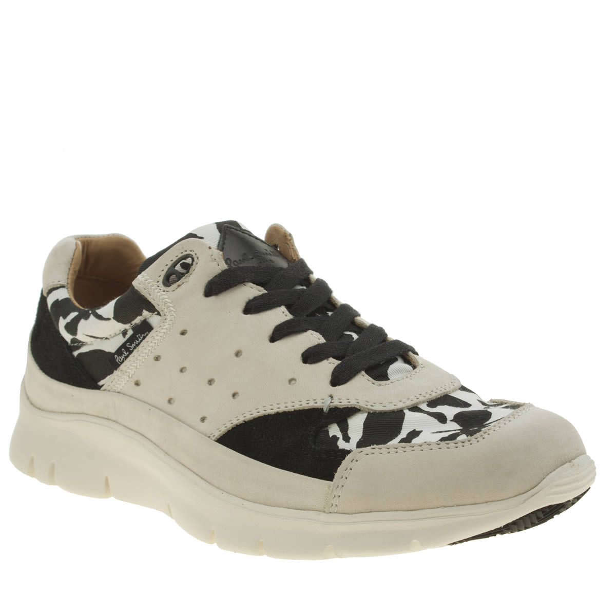 Paul Smith Shoes Paul Smith Shoes White & Black October Mens Trainers