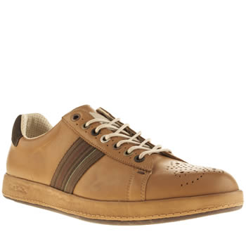 Mens Paul Smith Shoes Tan Rabbit Trainers