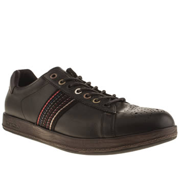 Mens Paul Smith Shoes Black Rabbit Trainers
