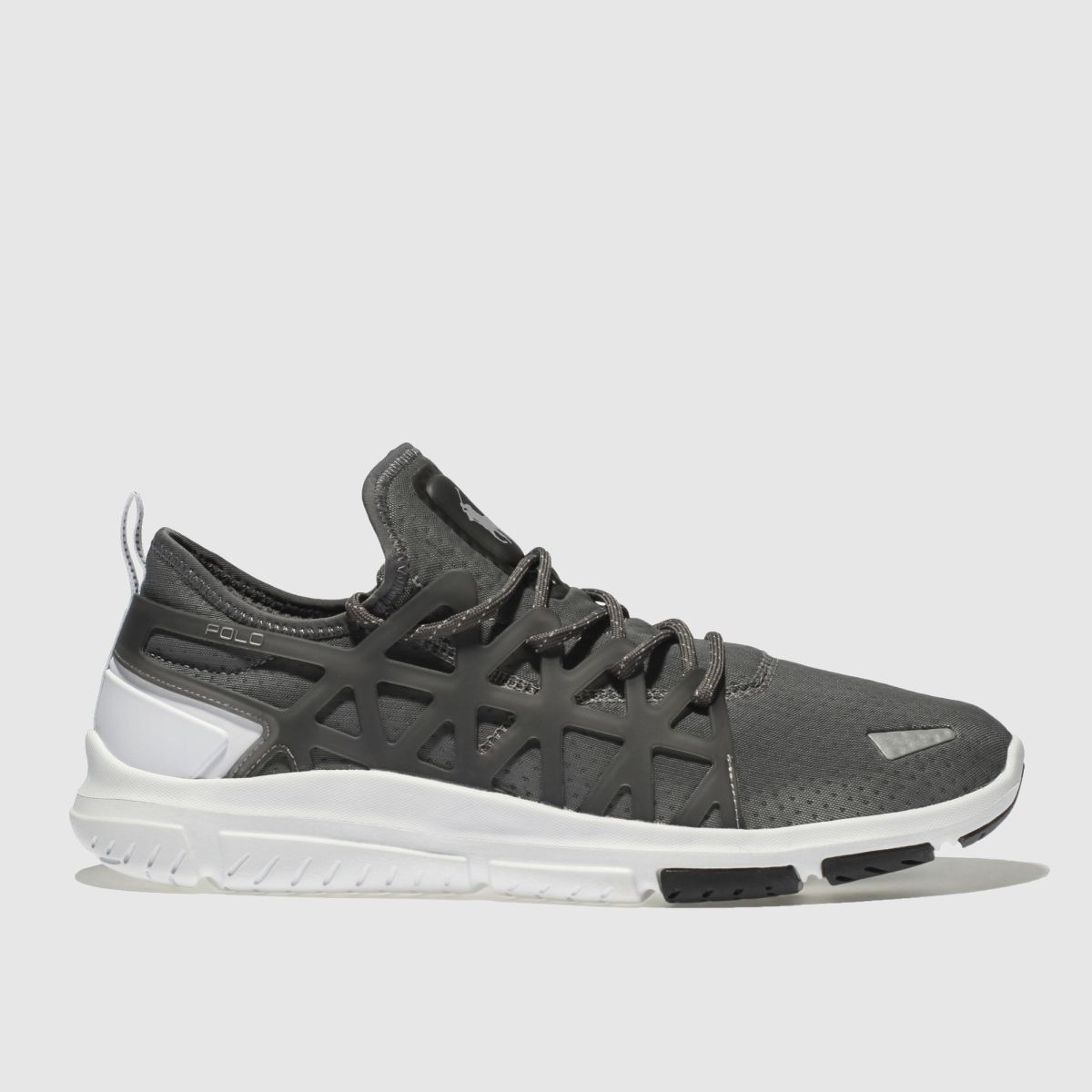 Polo Ralph Lauren Dark Grey Train 200 Trainers