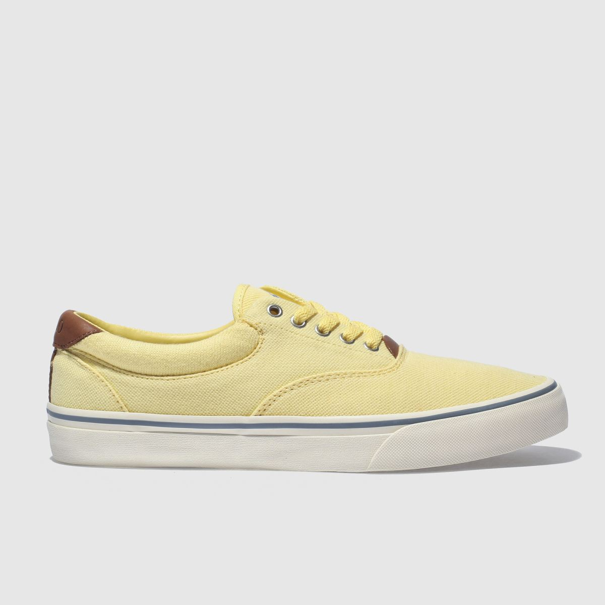 Polo Ralph Lauren Yellow Thorton Ii Shoes