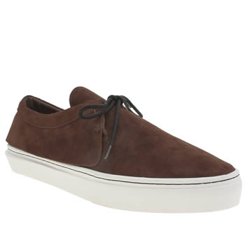 Clear Weather Brown Santora Mens Trainers