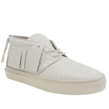 Clear Weather White One-o-one Trainers