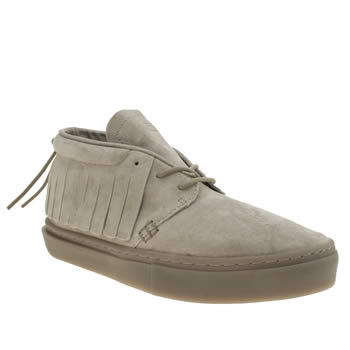 Mens Clear Weather Light Grey One-o-one Trainers