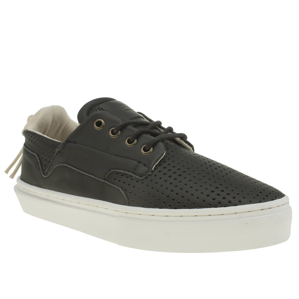 clear weather Clear Weather Black The Eighty Mens Trainers