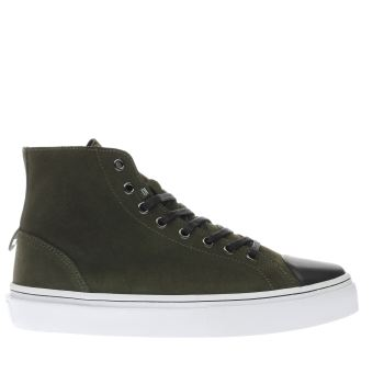 CLEAR WEATHER DARK GREEN SIERKS TRAINERS