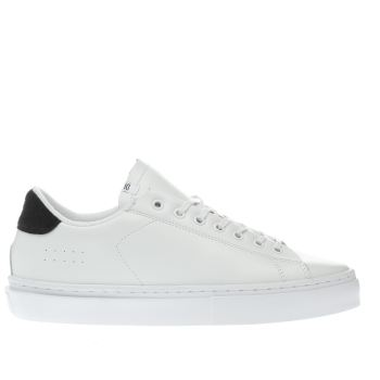 Clear Weather White & Black Jones Trainers