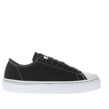 Clear Weather Black Sierks Low Trainers