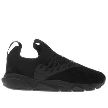 Clear Weather Black Stryk Trainers