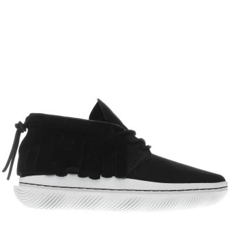 Clear Weather Black One-O-One Vx Mens Trainers