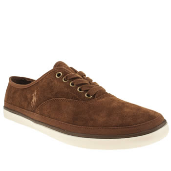 mens polo ralph lauren dark brown oran ii shoes