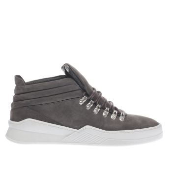 Momentum Grey Munro Hiker Mens Trainers