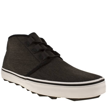 mens momentum black dirty harry rip chukka shoes