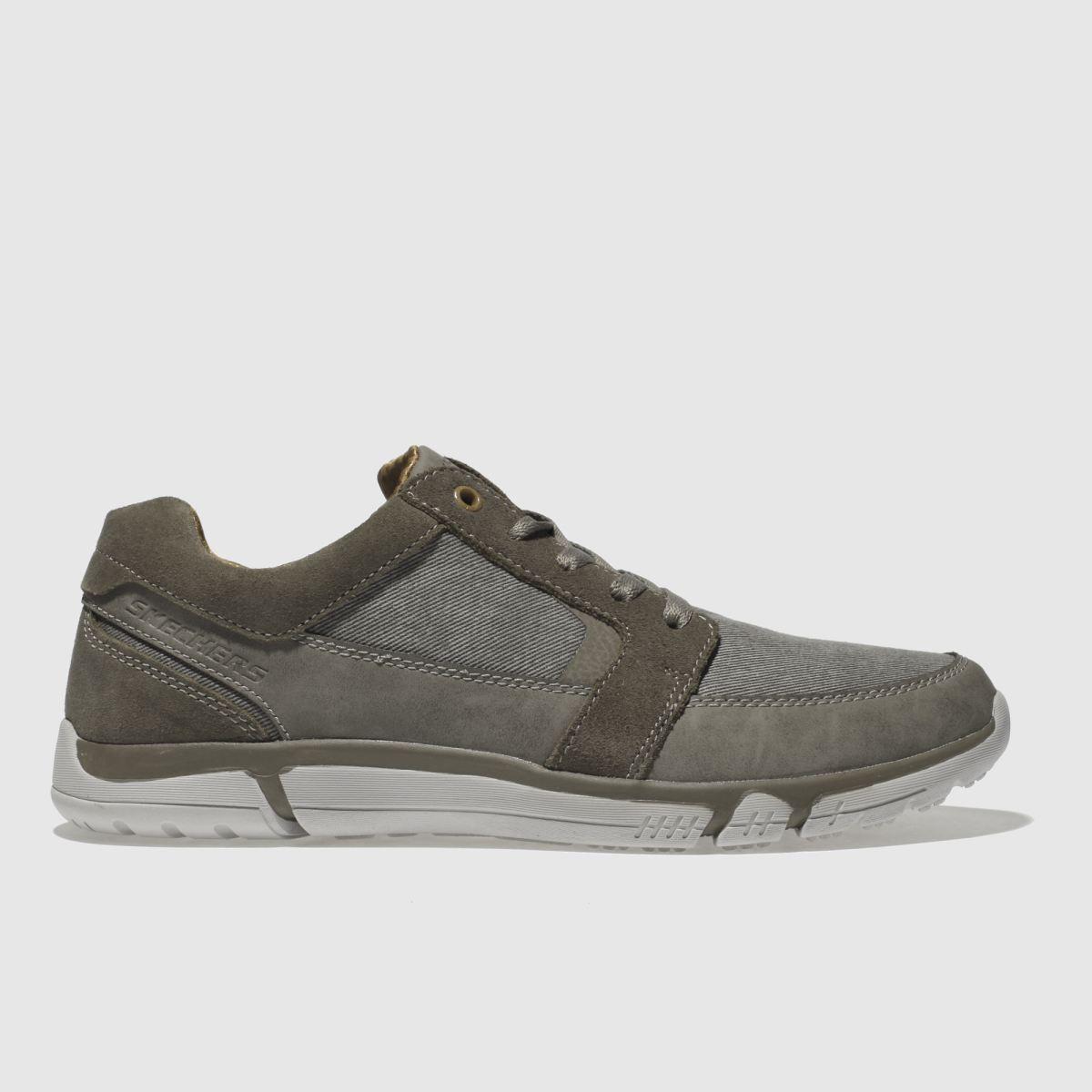 Skechers Grey Edmen Ristone Shoes