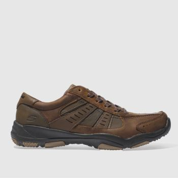 Skechers Tan Larson Nerick Mens Trainers