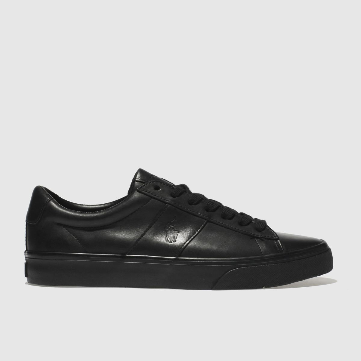 Polo Ralph Lauren Black Sayer Trainers
