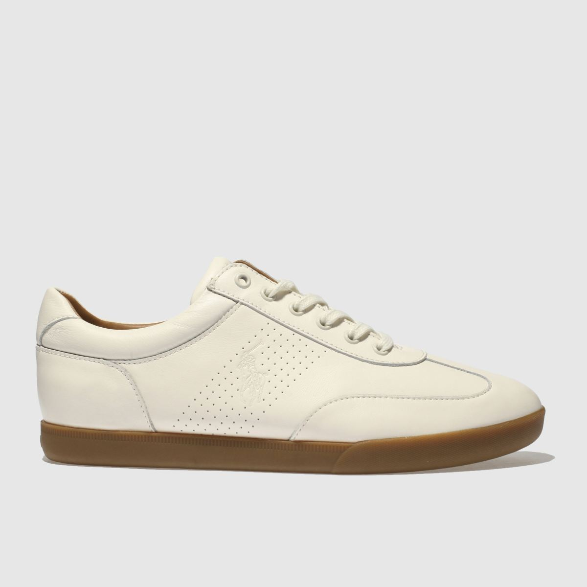 Polo Ralph Lauren Natural Cadoc Trainers