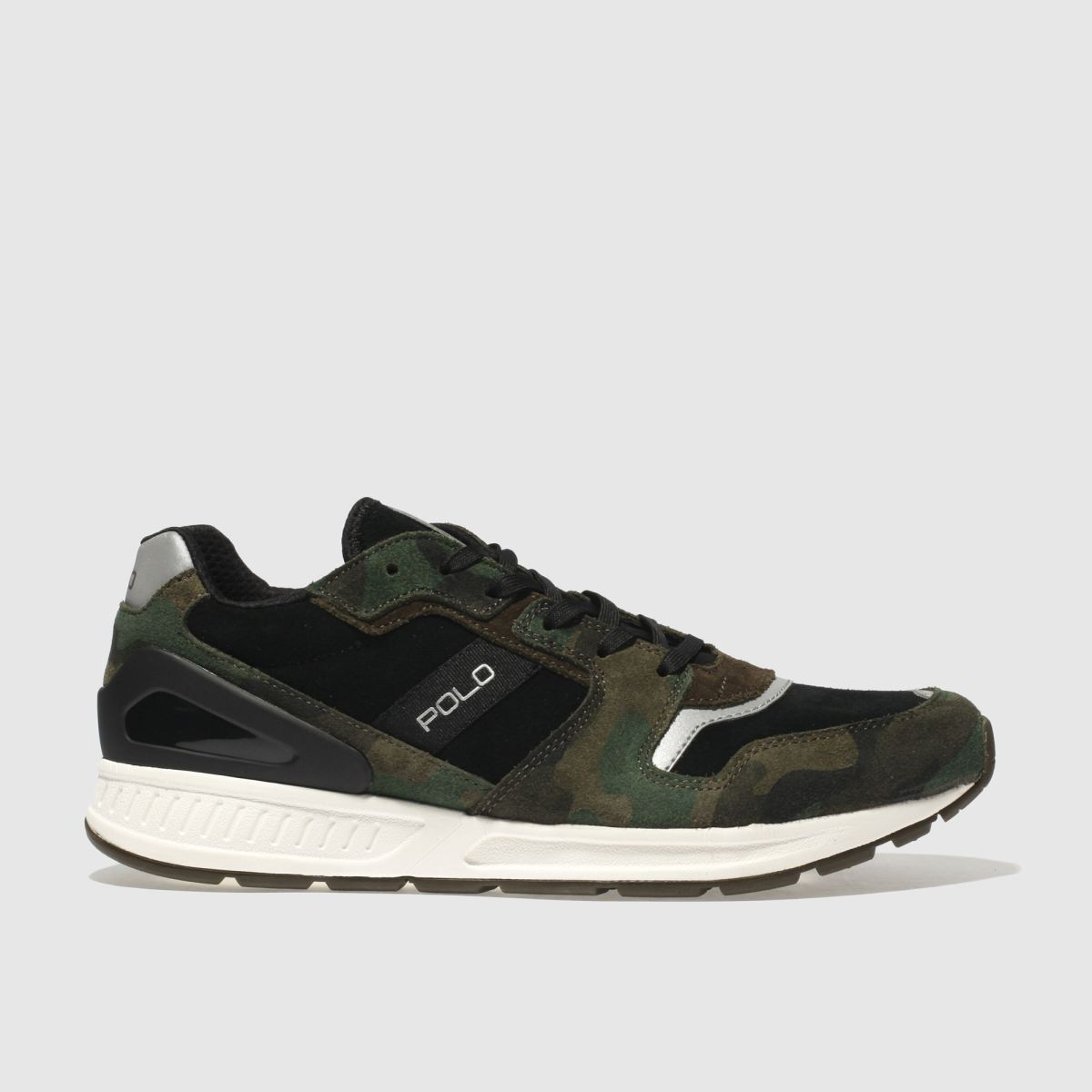 Polo Ralph Lauren Khaki Train 100 Trainers