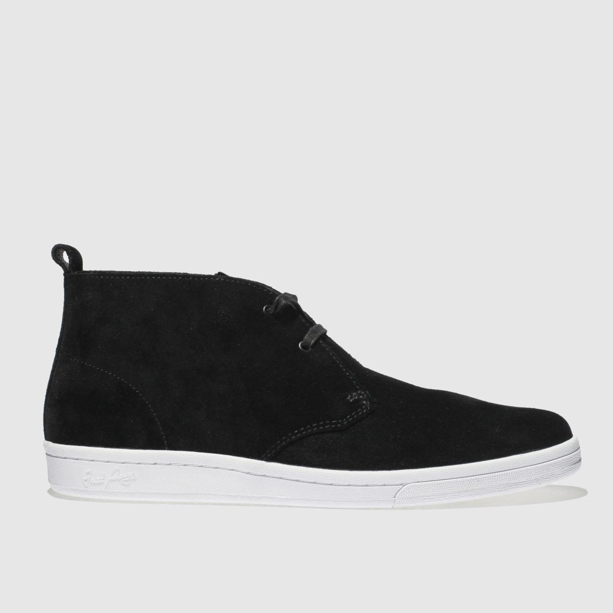 Fred Perry Black B721 X George Cox Boots