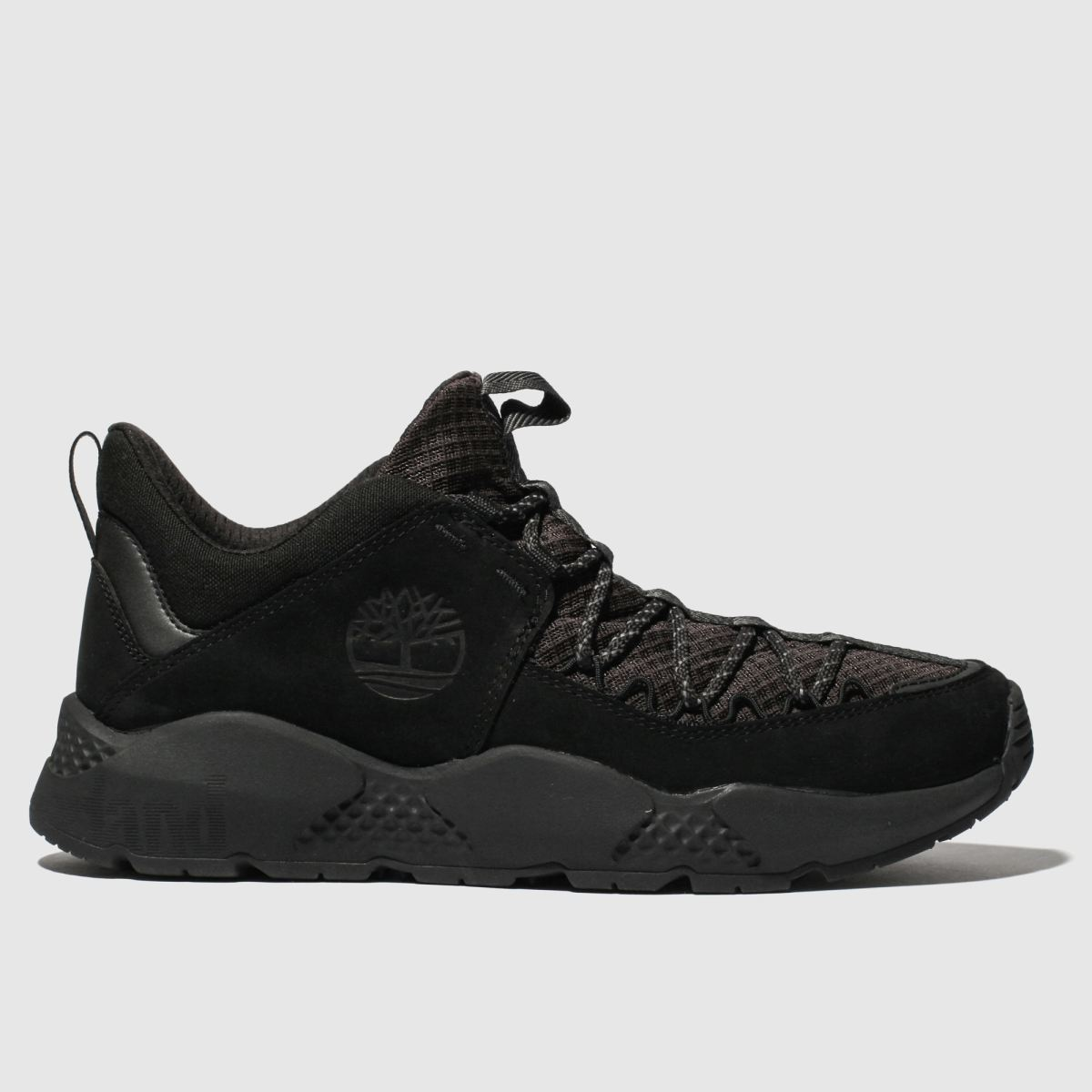 Timberland Black Ripcord Low Boots