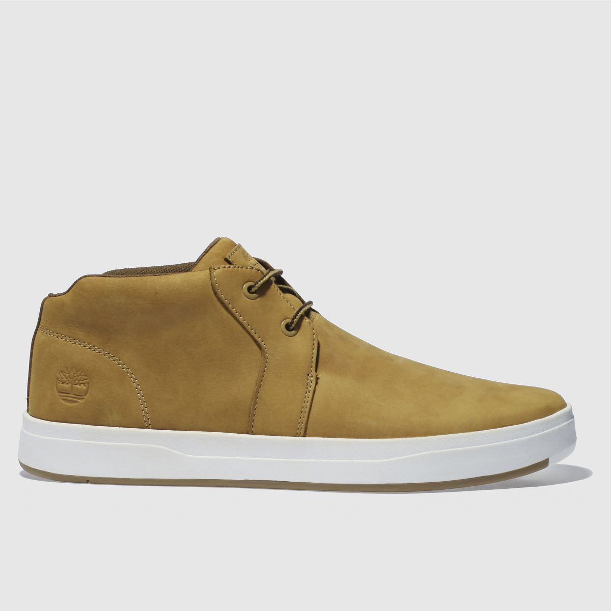 Timberland Tan Davis Square Boots