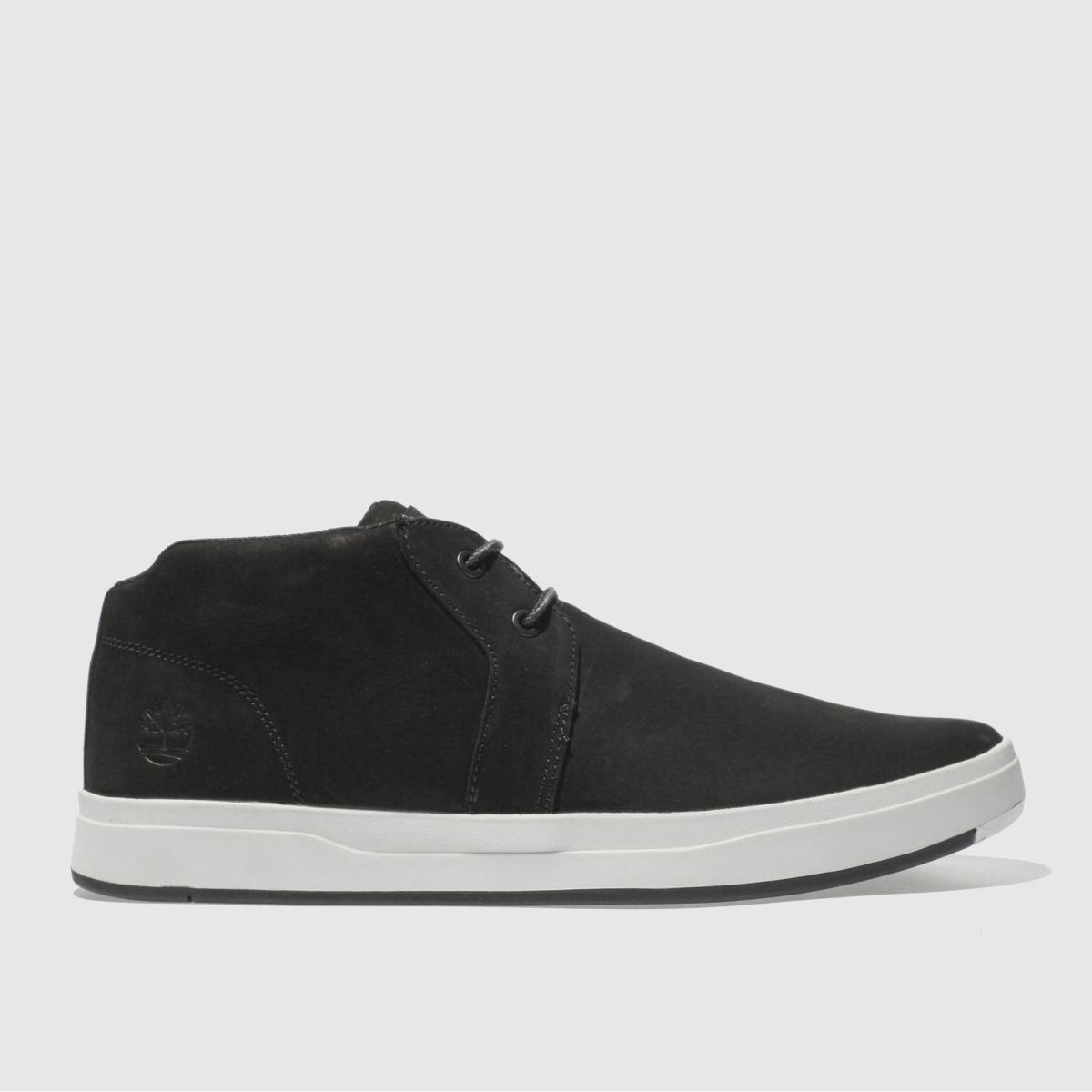 Timberland Black Davis Square Boots