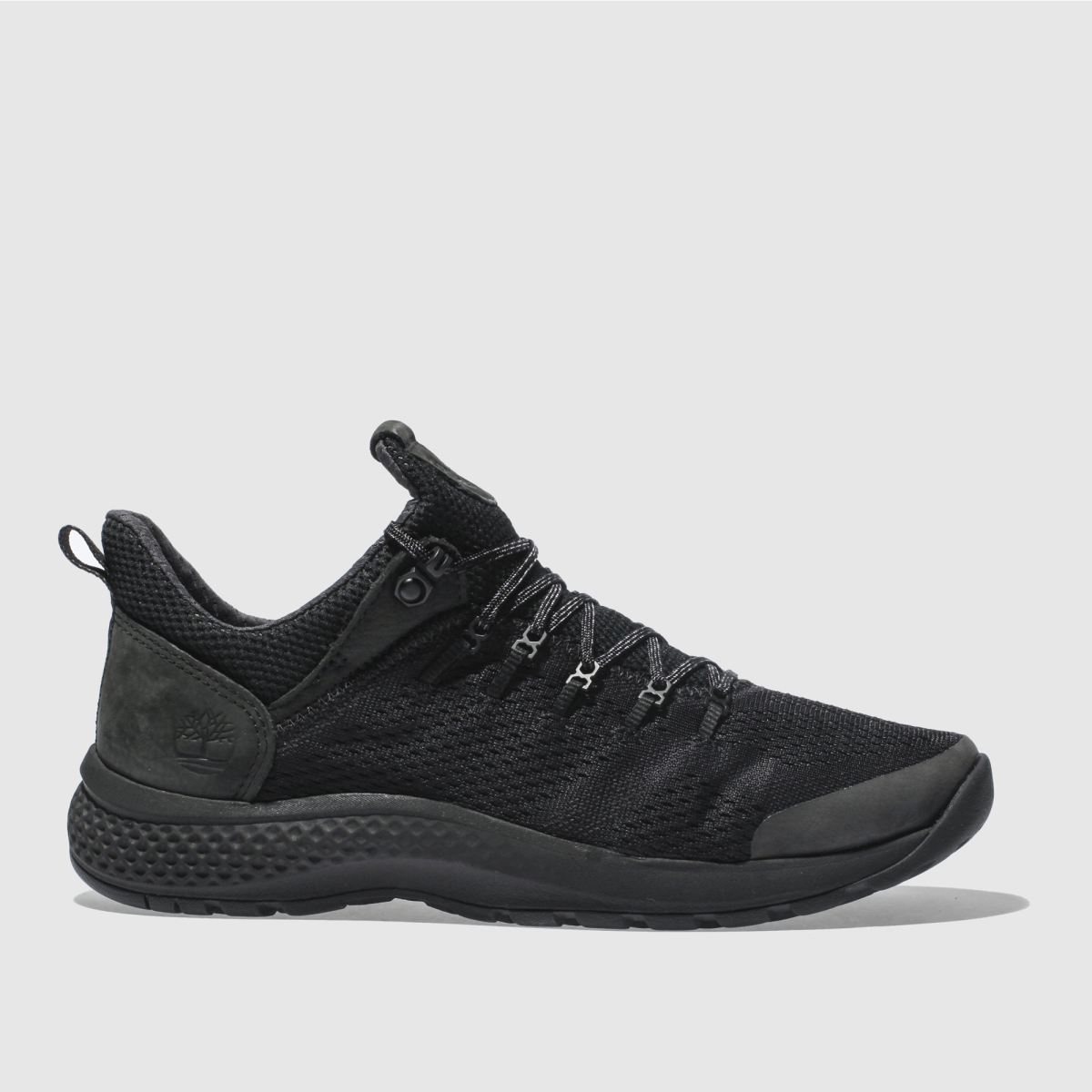 Timberland Black Flyroam Trail Low Trainers