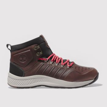 Timberland Brown Flyroam Trail Mid Mens Boots