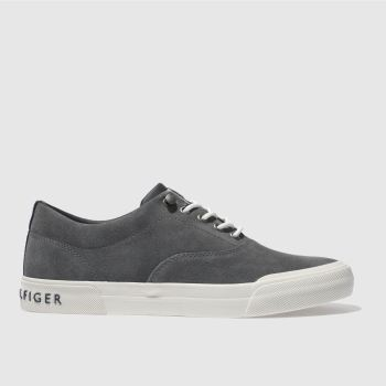 Tommy Hilfiger Grey Htg Sneaker Mens Trainers