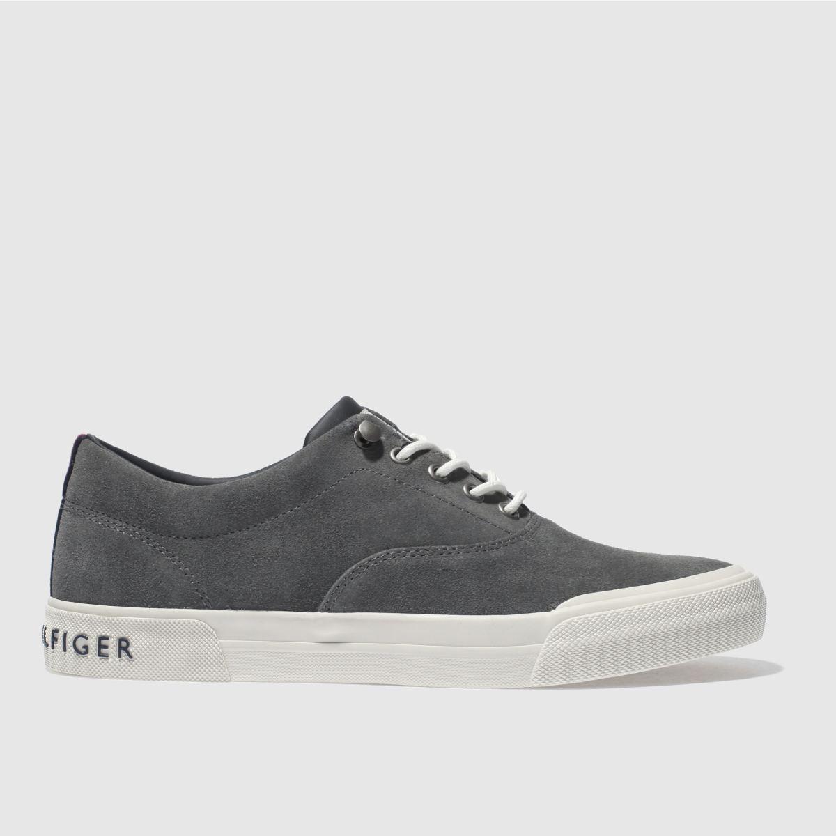 Tommy Hilfiger Dark Grey Htg Sneaker Trainers