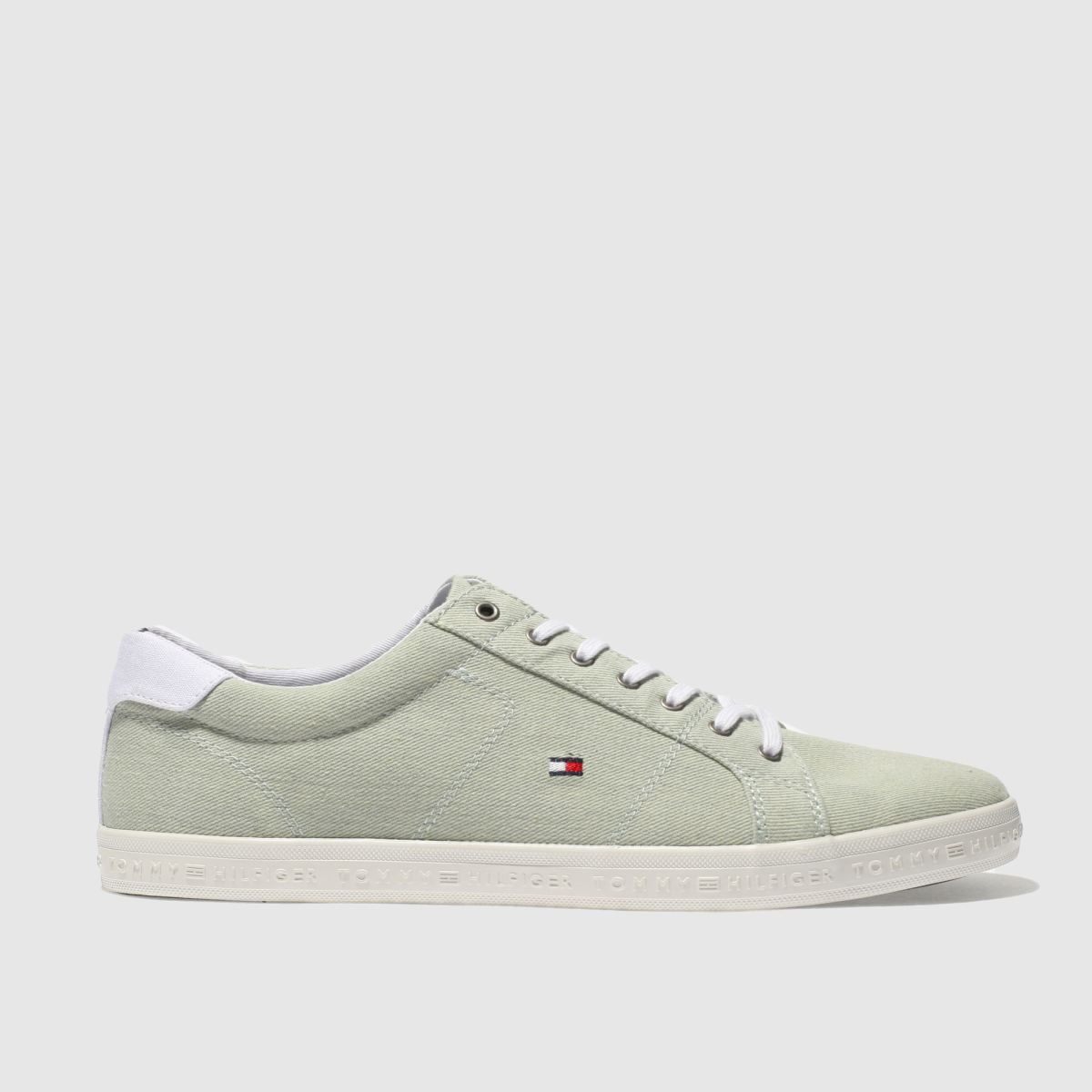 Tommy Hilfiger Light Green Essential Ll Trainers
