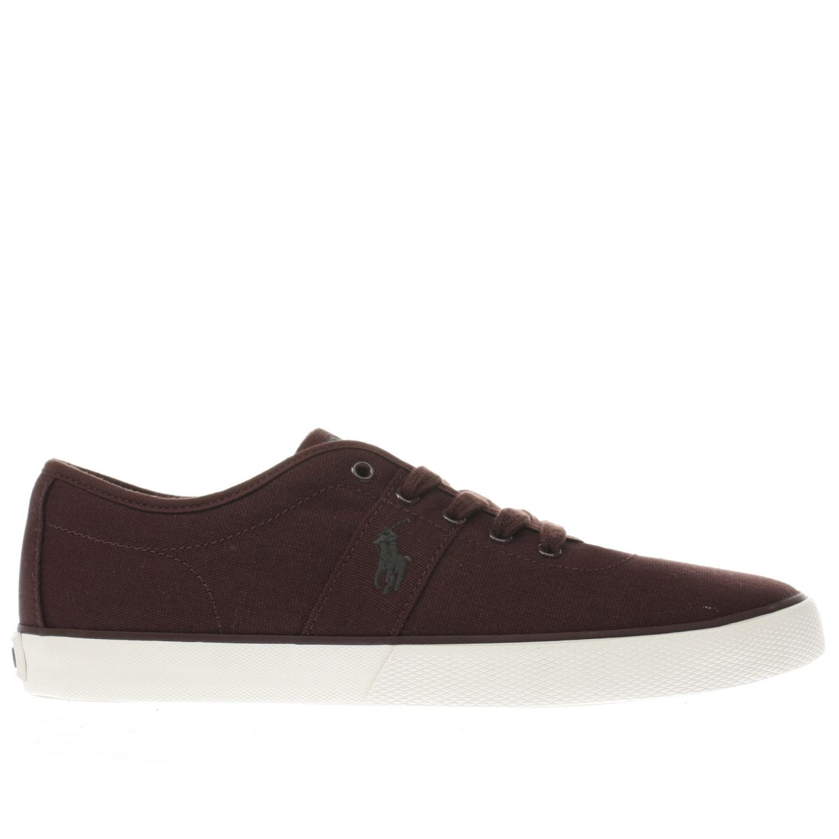 polo ralph lauren burgundy halford trainers