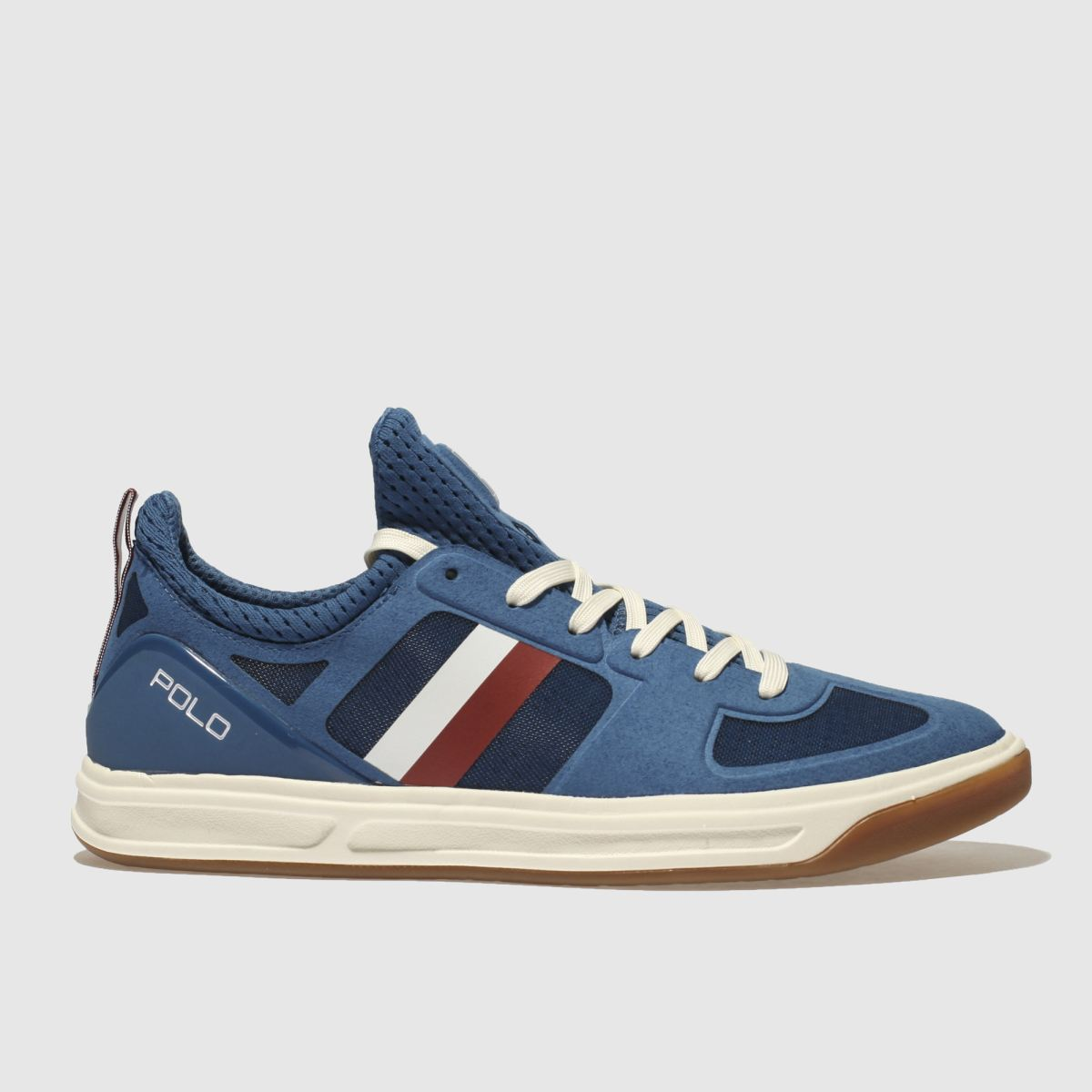 Polo Ralph Lauren Blue Court 200 Trainers