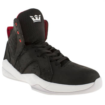 mens supra black x spectre magazine trainers